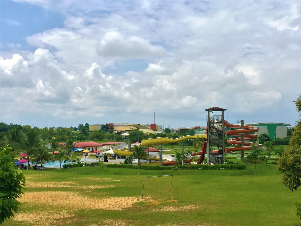 THE WATER PARK AT TINAPA