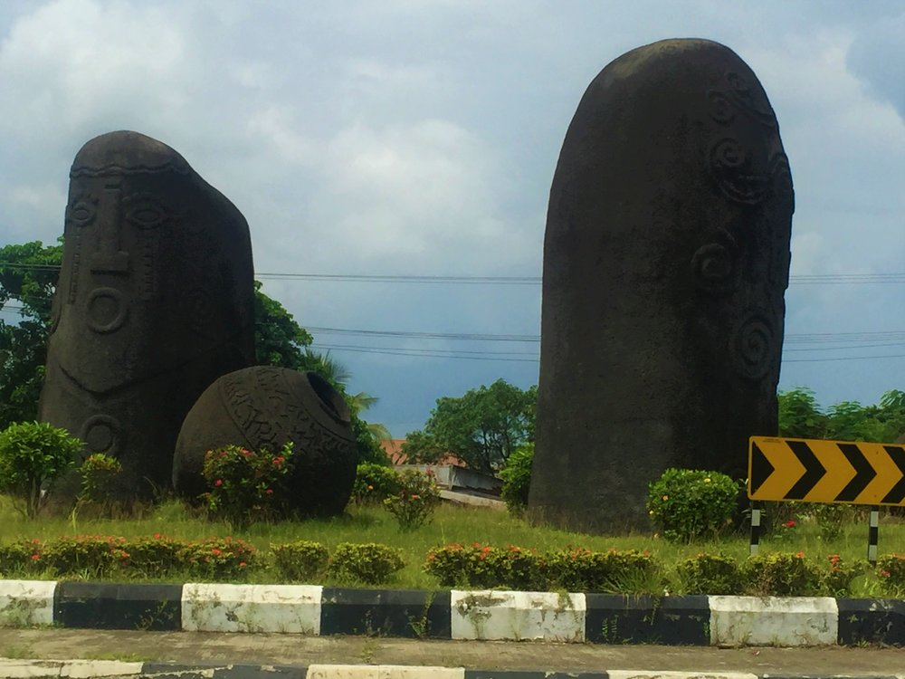MONOLITHS OF IKOM