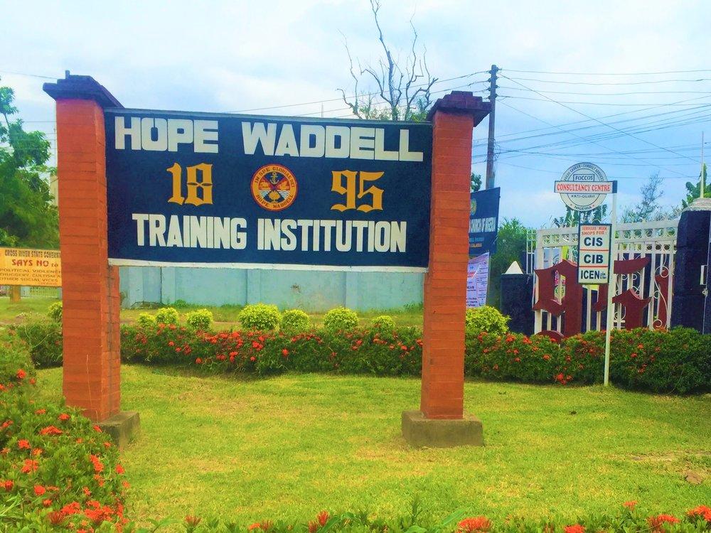 HOPE WADDELL .