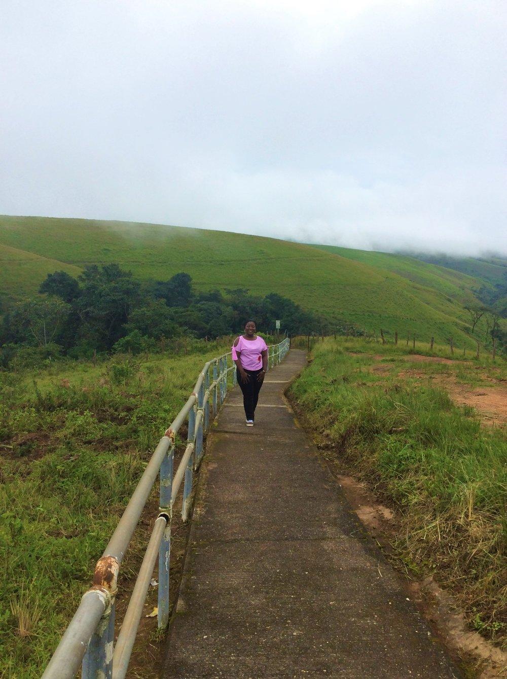 OBUDU MOUNTAIN RESORT | The Ajala Bug | WALKWAY LEADING TO IGAGA WATERFALL