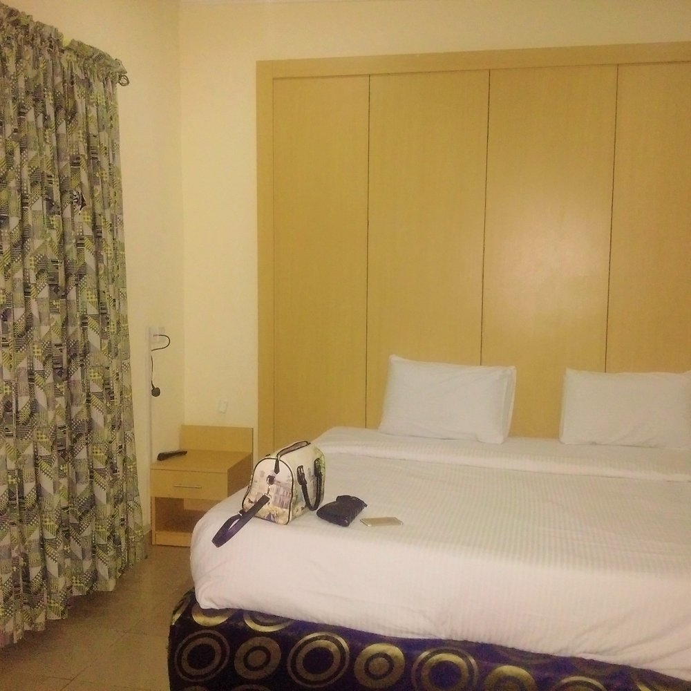 Inside the room at Ikogosi Resort