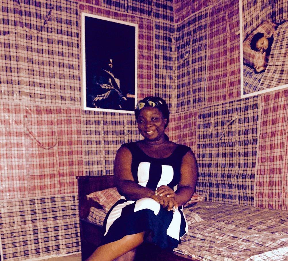 Ghana must go art work