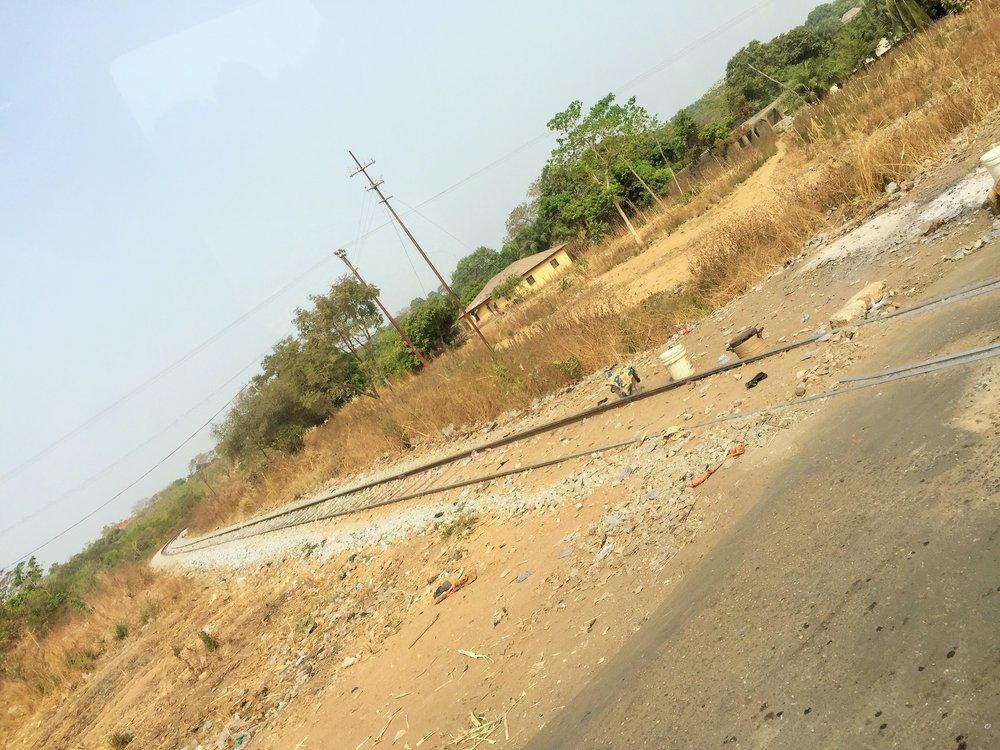 First sights : The railway tracks