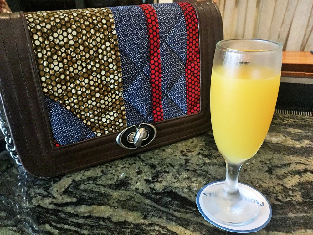 As I walked into the hotel, I was offered a glass of chilled juice. I was blown away because even the 5-star hotels in the big city are yet to adopt this culture or level of hospitality.