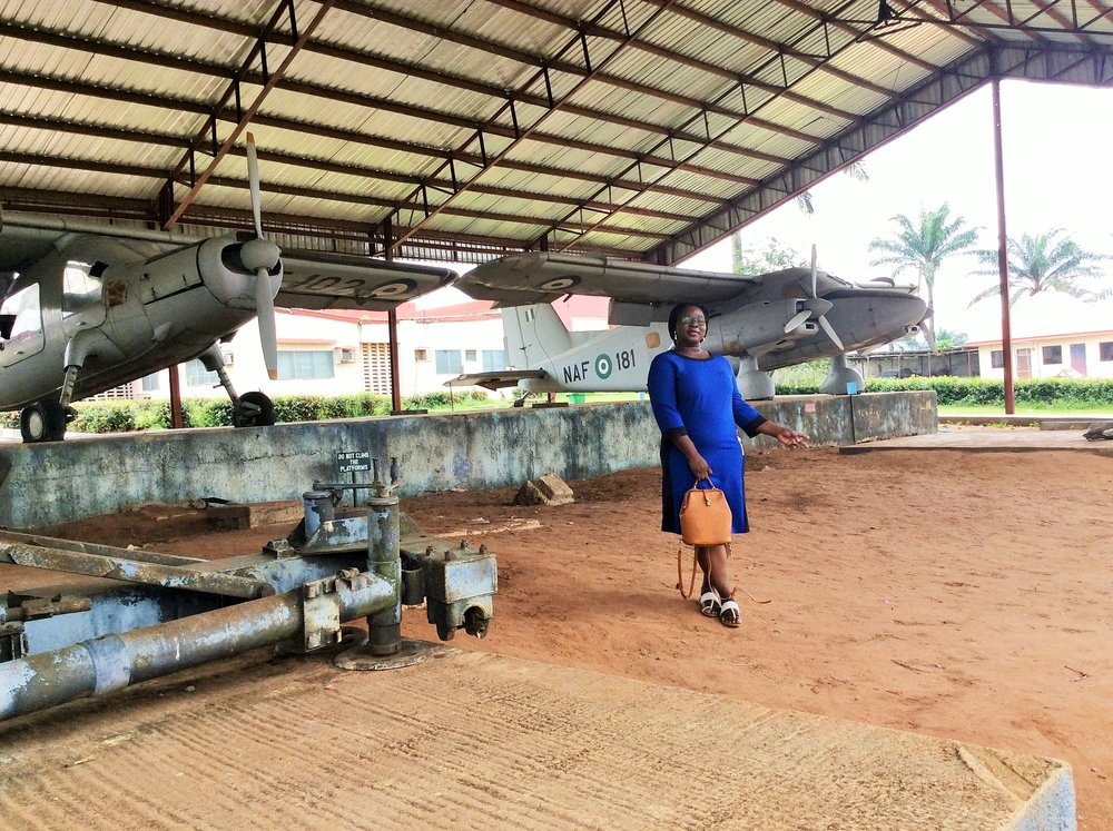 A part of the Nigerian military armour