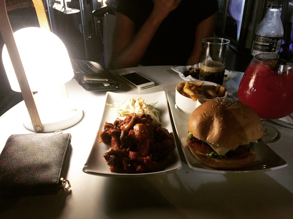 We ate a awful lot. Actually, I ate most of it. LMAO!.