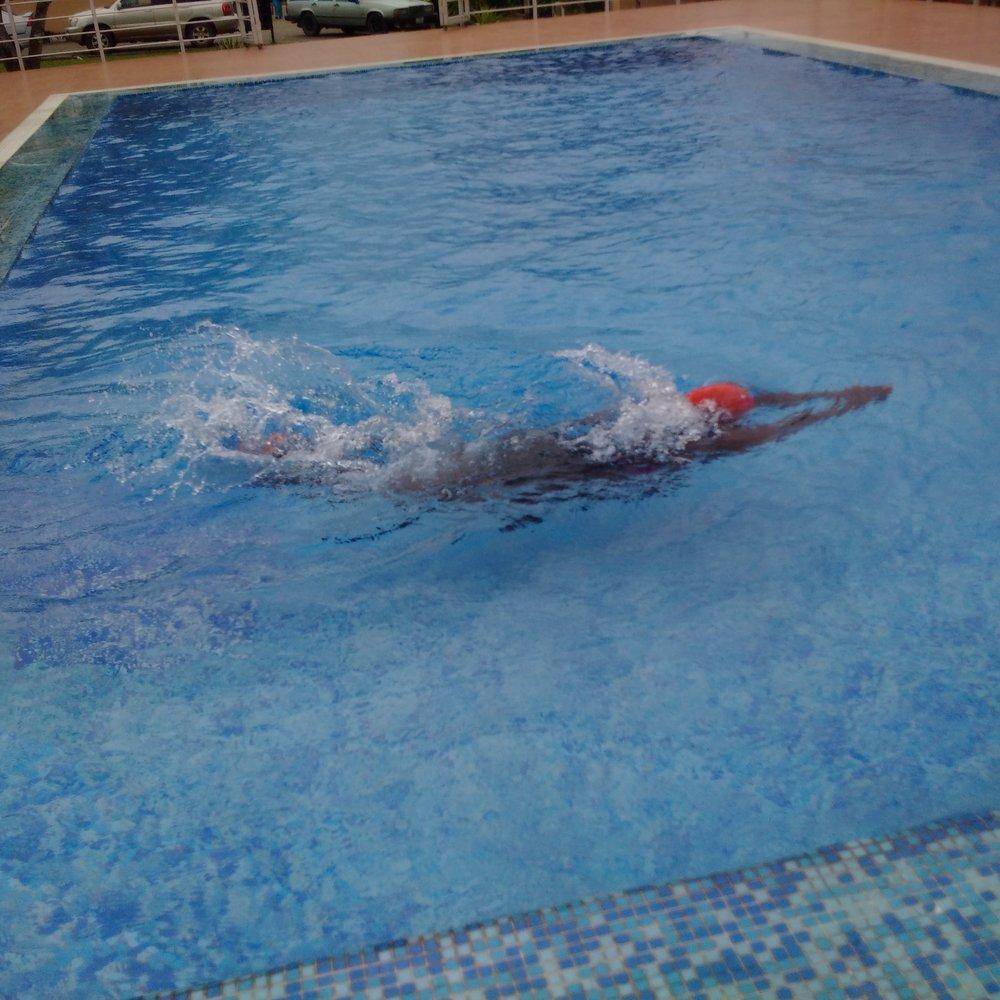 Yea, I swim sometimes :)