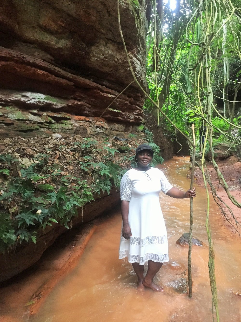 Awhum waterfalls | The AJALA BUG
