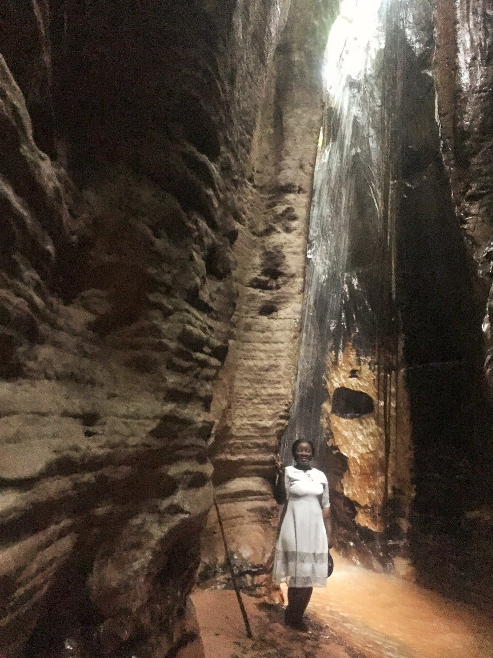 Awhum waterfalls and caves review | The Ajala Bug