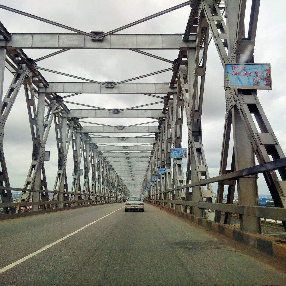 River Niger bridge linking Asaba and Anambra state