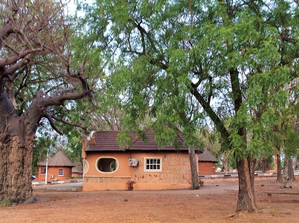 Accommodation at Yankari game reserve