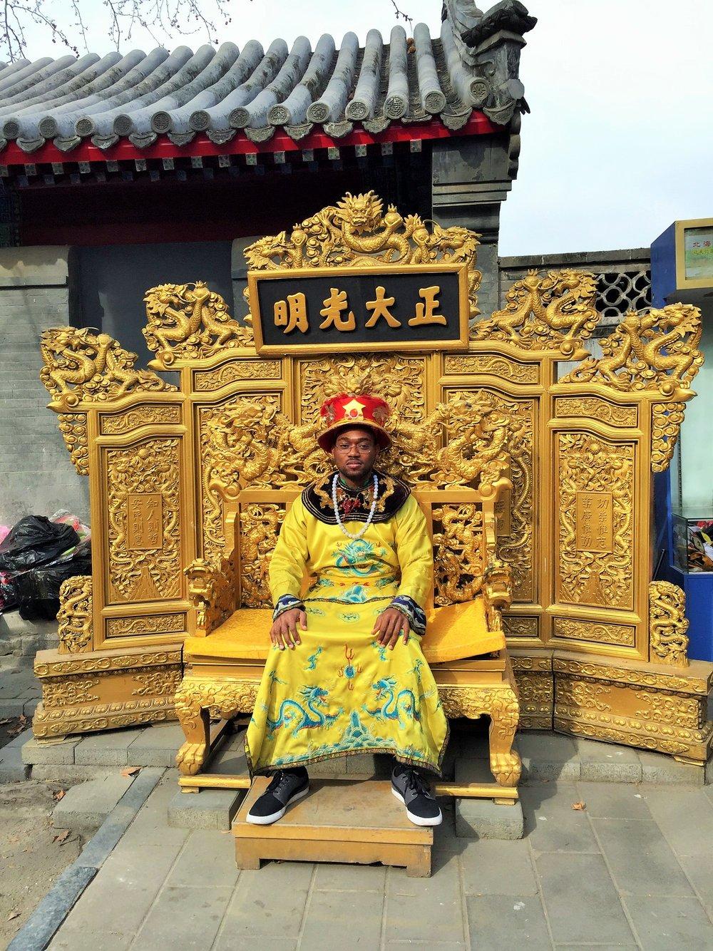 A Nigerian in China