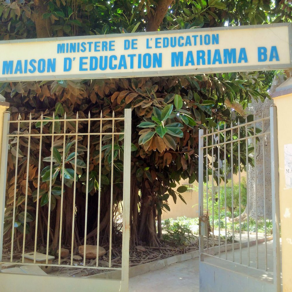 The first school in Senegal