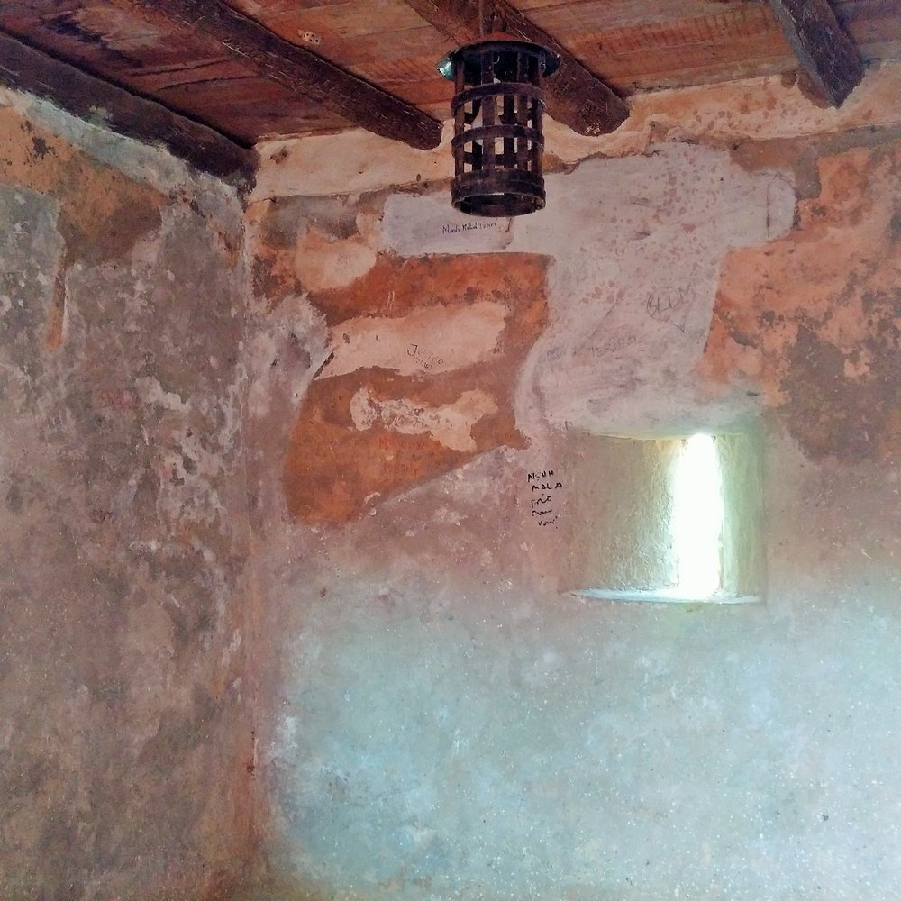 Slave dungeons at Goree Island