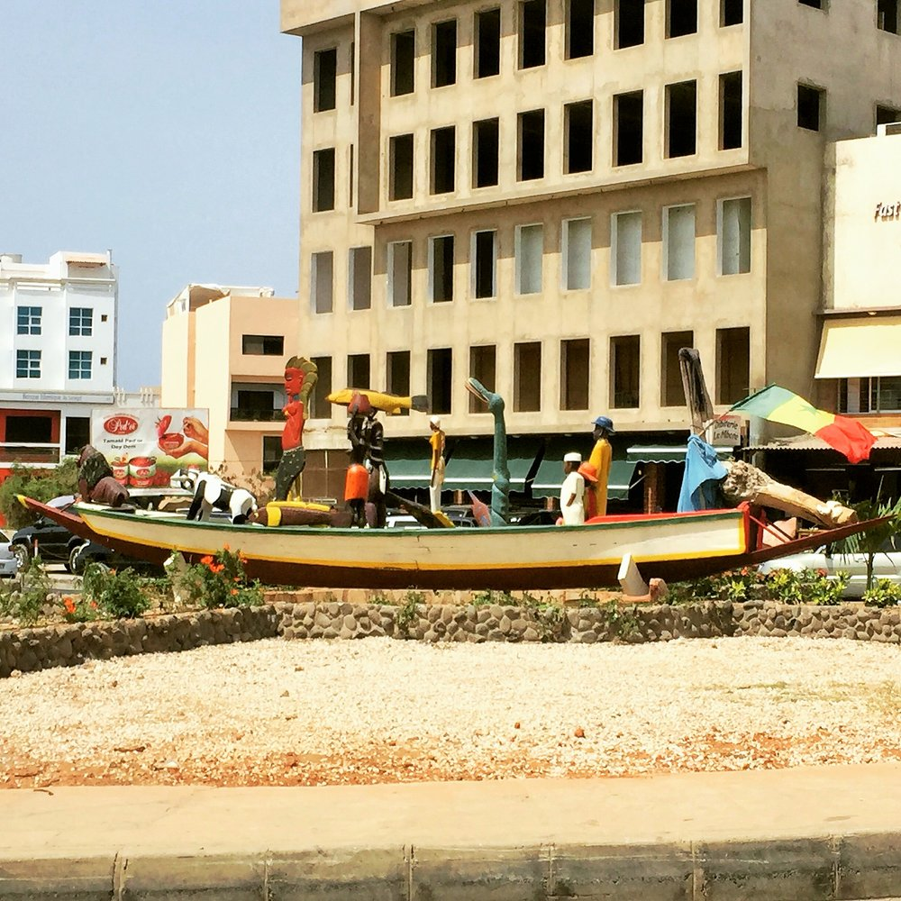 Street arts in Dakar