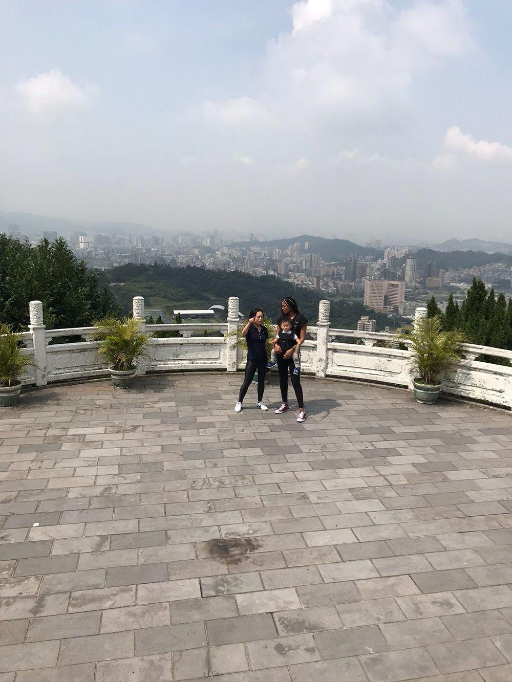Zhinan temple overlooking Taipei