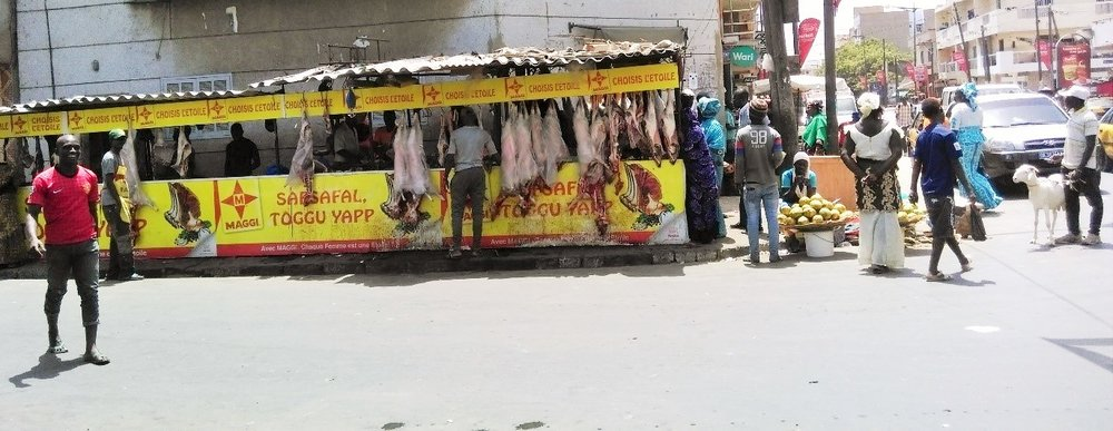 Butcher at Dakar