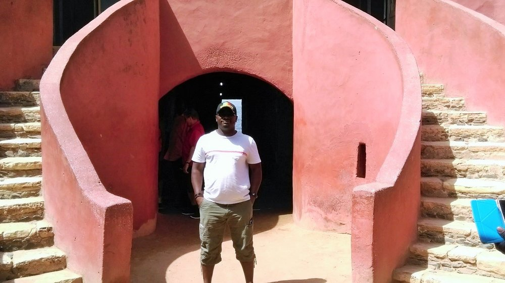 Goree Island slaving house