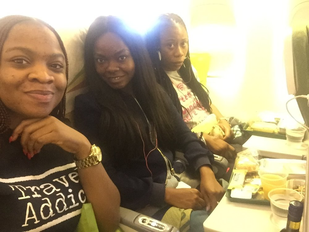 Onboard Ethiopia Airlines