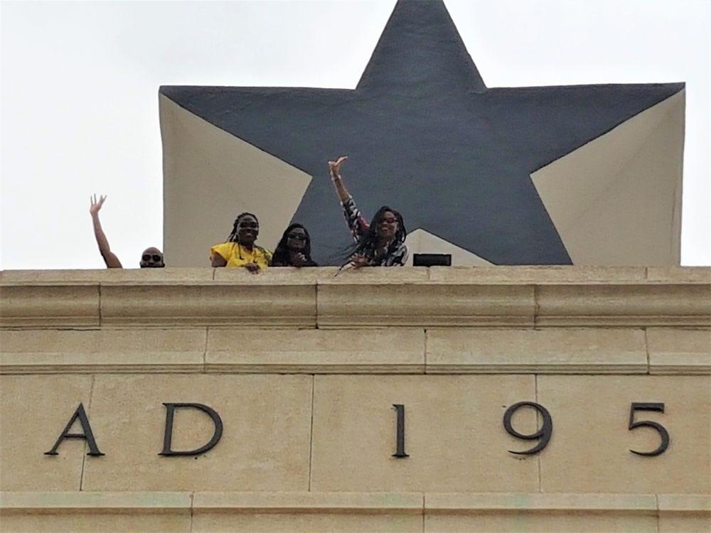 Black Star Gate Monument