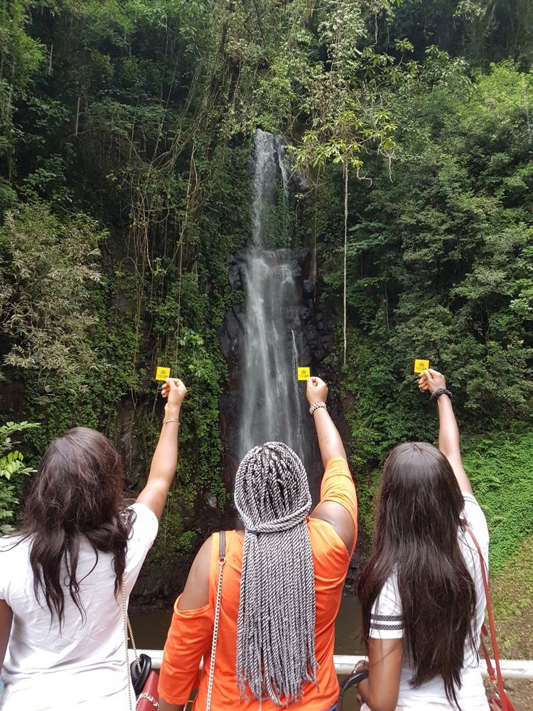 Sao Nicolao Waterfall