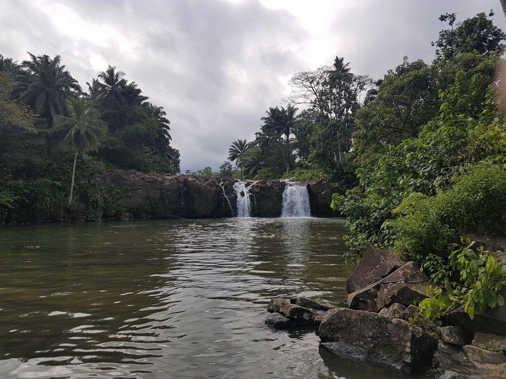 Pesqueira waterfall