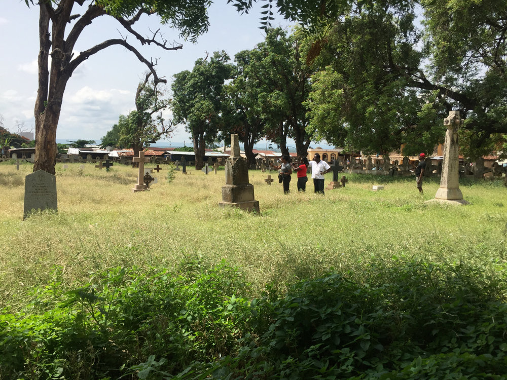 European soldiers/African missionaries cemetery