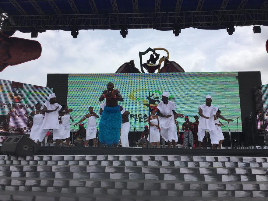Funmi Ajala Travels | African Drum Festival