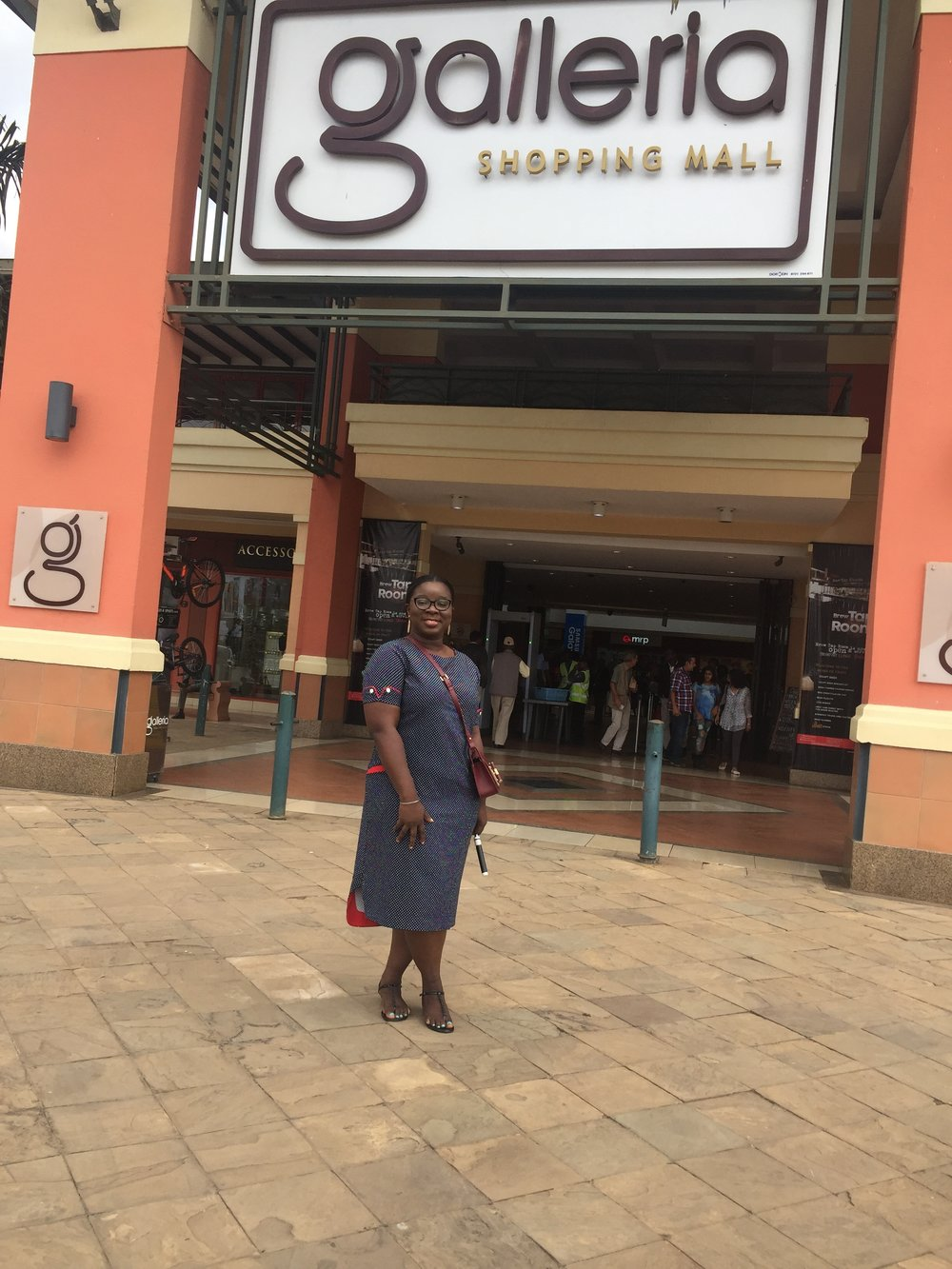Galleria shopping mall | The Ajala Bug