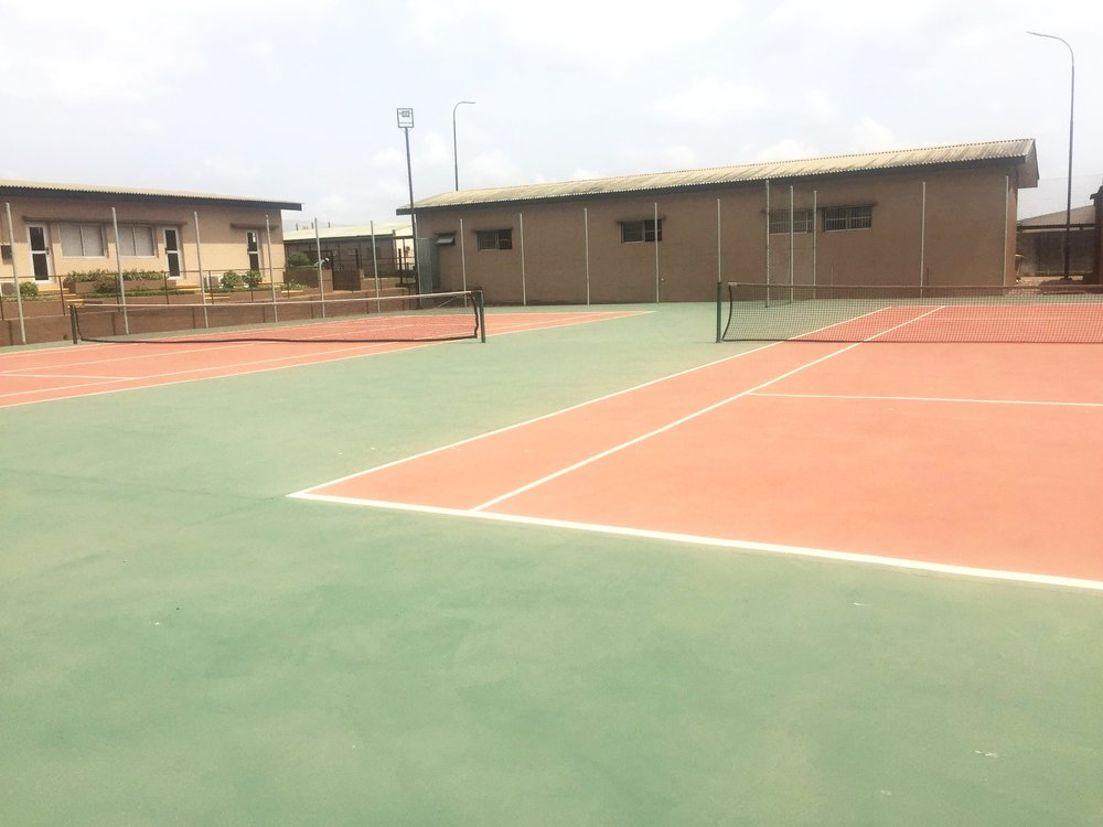 TCC Ogere Resort and Conference Centre | The two tennis court