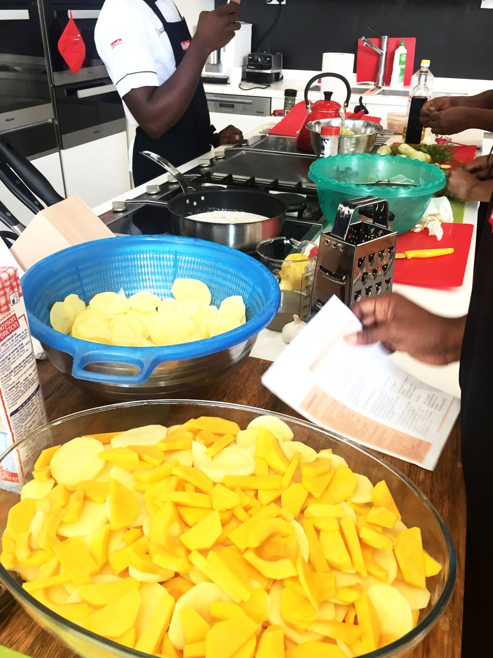 Miele showroom | Cooking classes in Lagos
