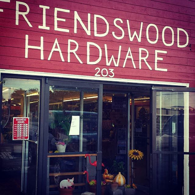 Doors are open during repairs! Our stock is limited but we are here for you.  #friendswoodhardware #thebighammer #open #harvey #openforbusiness #texasstrong