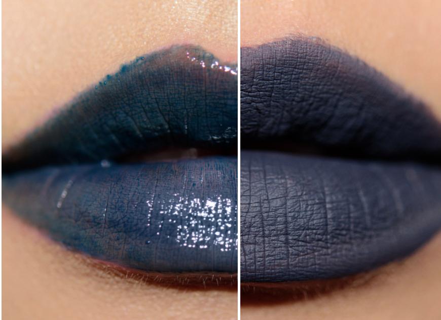 LEFT: MAC Acting On Impulse  RIGHT: Kat Von D Everlasting Liquid Lipstick in Woolf, $20   Sephora.com