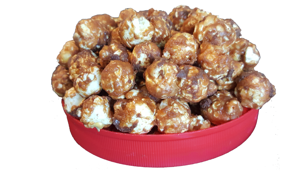 Mr. Carver™ - Honoring the great legacy of the great inventor,Mr. Carver has a peanut butter-chocolate shell drizzled in chocolate. George would be proud of this creation!*contains peanuts