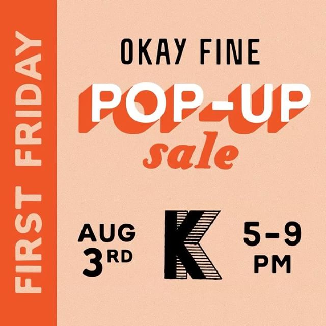 Surprise! We're opening our doors THIS First Friday in Fishtown for a pop-up sale of salvaged channel letters and custom prints. Perfect for you type nerds and lettering enthusiasts. 😛 Come say hi! (Address in profile.)