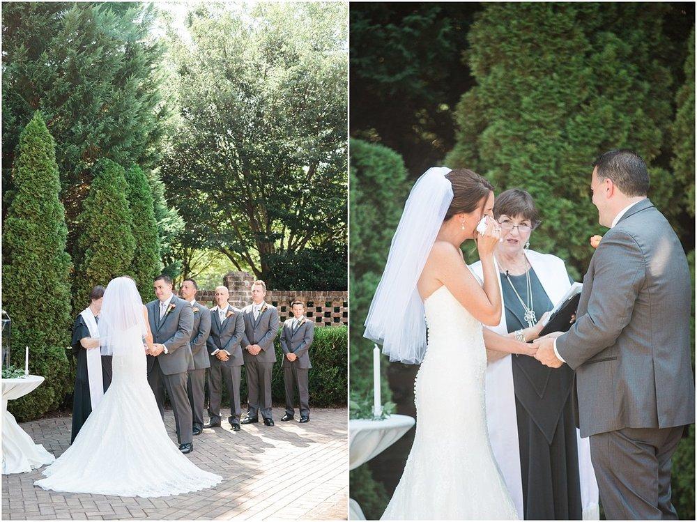 North Carolina Wedding Photographer Bow Tie Collaborative - Outdoor Wedding Ceremony.jpg