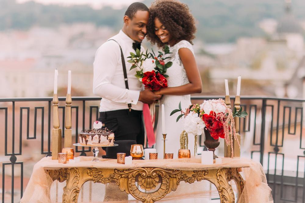 bride and groom at wedding reception dinner.jpg