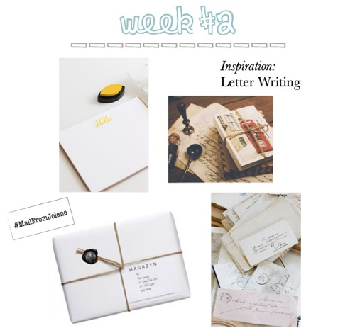 52 Weeks of Mail -Week 2 Letter Writing Inspiration