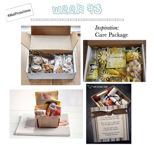 52 Weeks of Mail: Week 3 Inspiration Care Package