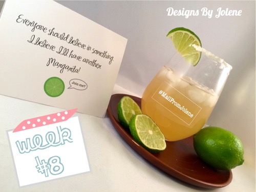 52 Weeks Of Mail- Week 8 Feature Photo National Margarita Day