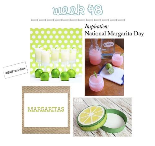 52 Weeks Of Mail-Week 8 Inspiration National Margarita Day