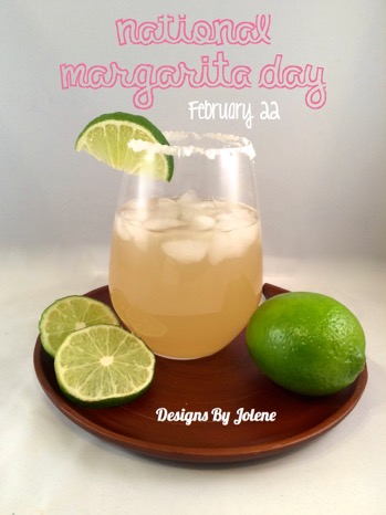 52 Weeks Of Mail- Week 8 National Margarita Day Feb 22