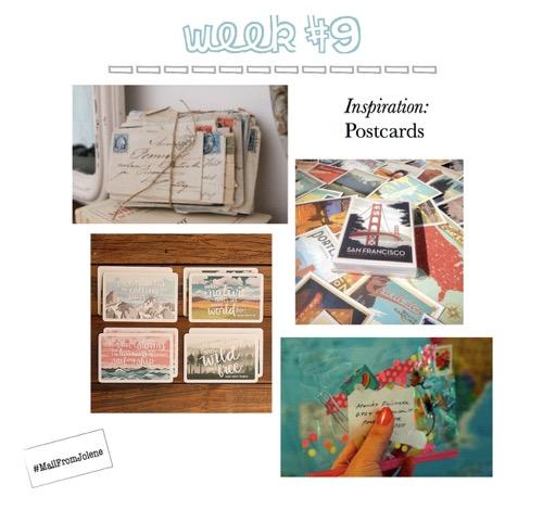 52 Weeks Of Mail-Week 9 Postcards