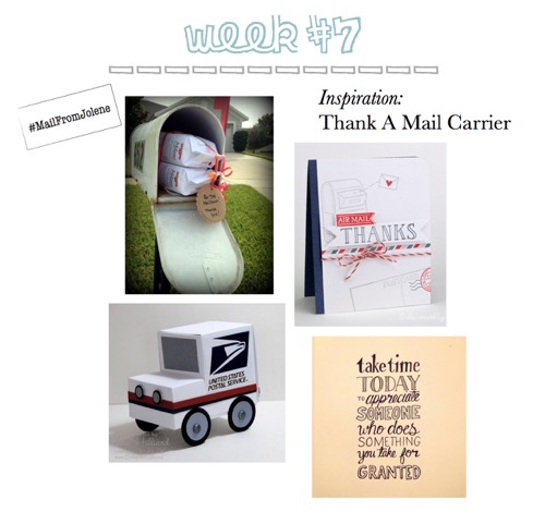 52 Weeks of Mail: Week 7- Thank A Mail Carrier