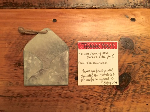 52 Weeks of Mail: Week 7- Thank a Mail Carrier 1