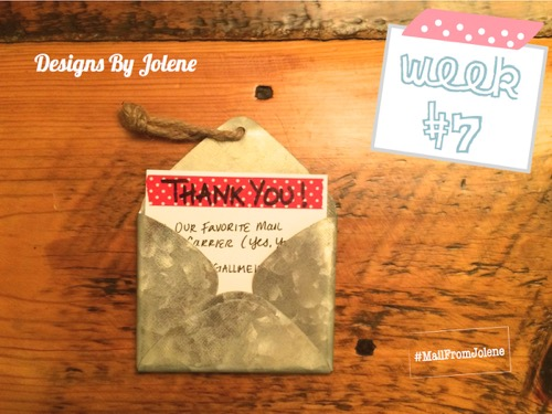 52 Weeks of Mail: Week 7- Thank a Mail Carrier 5