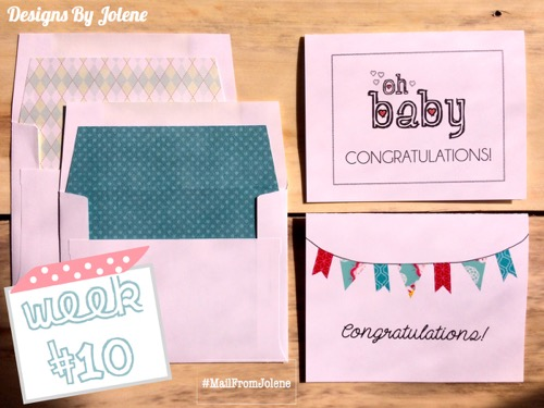 52 Weeks Of Mail- Week 10 Feature Photo Congratulations Cards 1