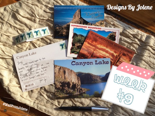 52 Weeks Of Mail- Week 9 Feature Photo Post Cards