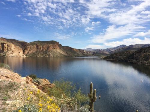 Canyon Lake along the Apache Trail AZ