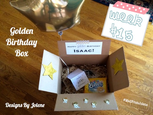 52 Weeks Of Mail- Week 15 Feature Photo Golden Birthday